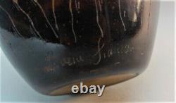 12 Le Verre Francais Cameo Glass Pitcher CHARLES SCHNEIDER French Art Deco