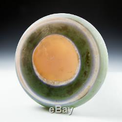17 Galle Cameo Glass Hydrangeas Vase c1910