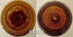 1900 French Art Nouveau GALLE cameo glass Vase