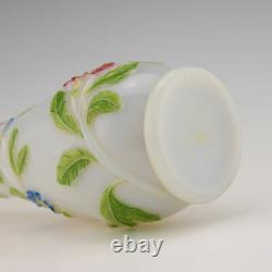 A Baccarat Opalescent Vase c1860