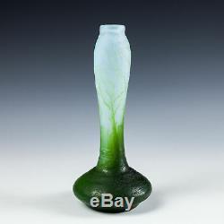 A DeVez Cameo Solifleur Vase c1910