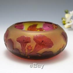 A Galle Cameo Glass Bowl c1920