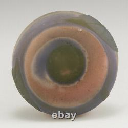 A Galle Cameo Glass Vase With Cylindrical Neck 1905-08