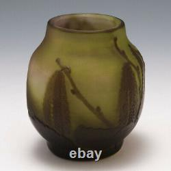 A Galle Cameo Glass Vase c1910