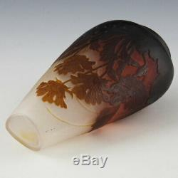 A Galle Cameo Vase c1900