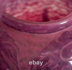 A Le Verre Francais Cameo Glass Vase