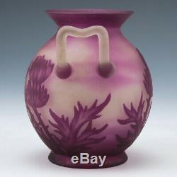 A Vessières Freres Acid Cameo Vase c. 1910