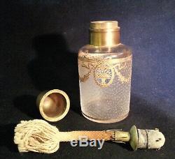 Antique Cameo Glass Acid Cutback Lampe Berger Baccarat St. Louis