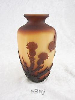 Art Nouveau Galle Cameo Vase