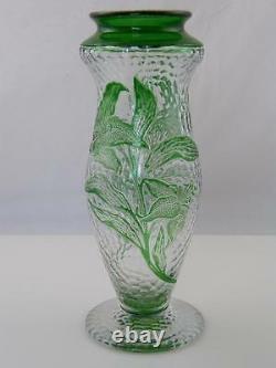 Art Nouveau Styled Webbs Cameo Glass Vase
