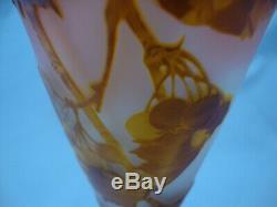 Authentic Emile Galle Cameo Vase