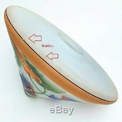 Bellova Cameo Art Glass Gnome Lamp Czechoslovia Signed & Numbered RARE