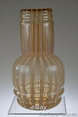 C. 1920s No. 1502 CAMEO Opal. Glass by Fenton Night Set / Tumble Up RARE