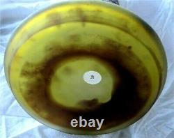 EMILE GALLE Signed Acid Etched Double Overlay Cameo Glass Vase 1900's 18