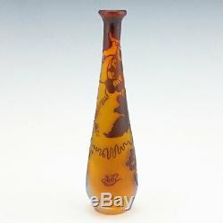 Emile Gallé Cameo Vase c1900