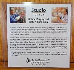 Fenton Kelsey Murphy & Robert Bomkamp Limited Edition #7 of 175 CAMEO VASE