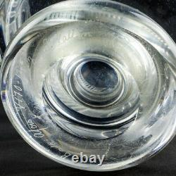 Footed glass vase by Bertil Vallien for Boda-Åfors