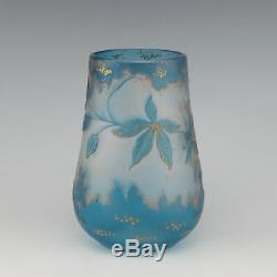 Harrach Cameo Glass Vase c1900