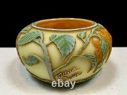 Kathleen Orme Floral Design Cameo Glass Bowl