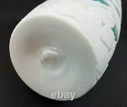 Kelsey Murphy/Bomkamp Amusing Flight Cameo Art Glass Vase 10.5Signed/Numbered