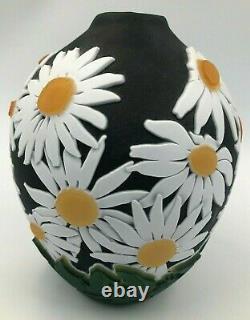 Kelsey Murphy Pilgrim Cameo Daisy Vase 8 inch