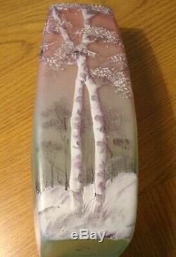 Legras cameo glass vase