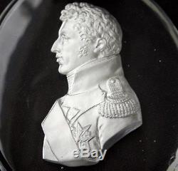 MONTCENIS Sulphide Cameo Portrait DUKE DANGOULEME