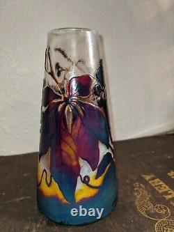 OLD Val ST. Lambert FIREPOLISH Art glass Cameo glass Richard Galle DAUM DECO