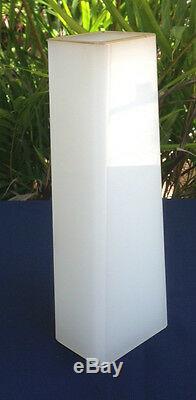 Opaline DECO NOUVEAU Art Glass Vase CAMEO