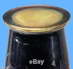 Original Galle 18.5 H Cameo Glass Vase Flowers Vines & Grass Sale 20% Off