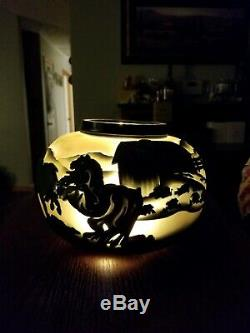 Pilgrim Glass Cameo One of a Kind Signed by Kelsey Murphy