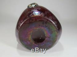 Probably Loetz iridescent cameo glass vase # D8891