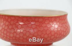 Rare Webb cameo Fishscale small bowl, late 19th c. 11450