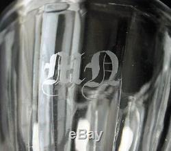 Sulphide Cameo Portrait NAPOLEON III Glass Goblet MN Mono