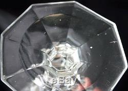 Sulphide Cameo Portrait NAPOLEON III Glass Goblet MV Mono