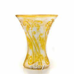 Tall Webb Cameo Fleur Vase c1933