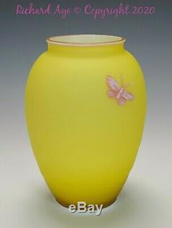 Thomas Webb & Sons Three Color Cameo Vase Cir 1887